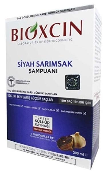 Bioxcin Bioxcin Siyah Sarımsak Şampuanı 300ml Renksiz
